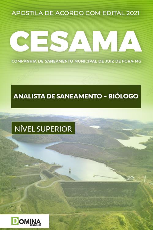 Apostila Concurso CESAMA Juiz de Fora MG 2021 Biólogo