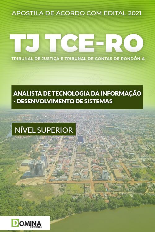 Apostila TJ TCE RO 2021 Analista TI Desenvolvimento de Sistemas