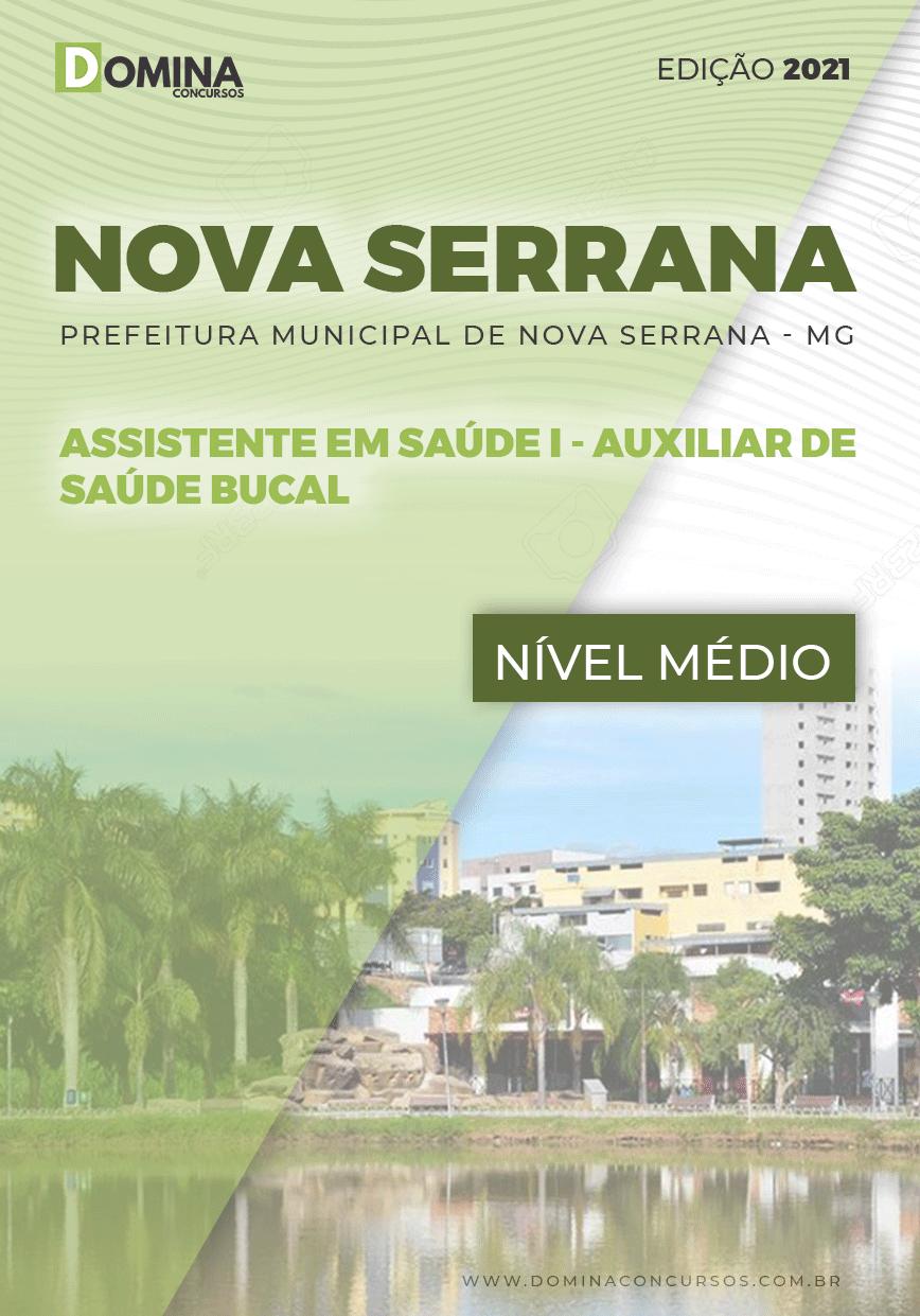 Apostila Pref Nova Serrana MG 2021 Auxiliar de Saúde Bucal