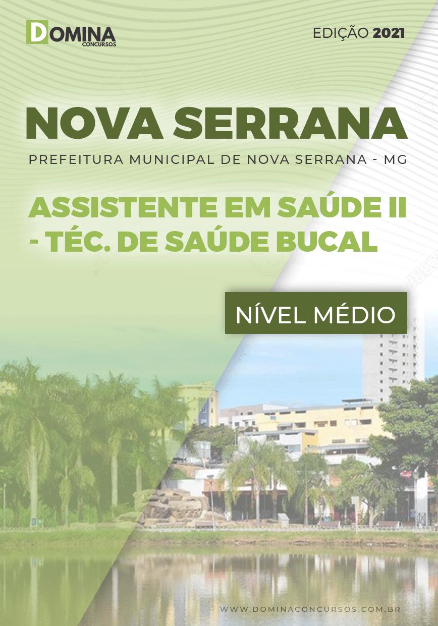 Apostila Pref Nova Serrana MG 2021 Técnico de Saúde Bucal
