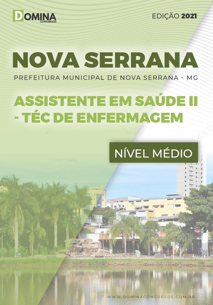 Apostila Pref Nova Serrana MG 2021 Técnico de Enfermagem