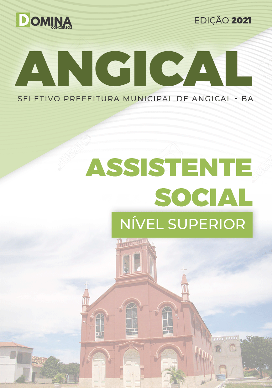 Apostila Seletivo Pref Angical BA 2021 Assistente Social