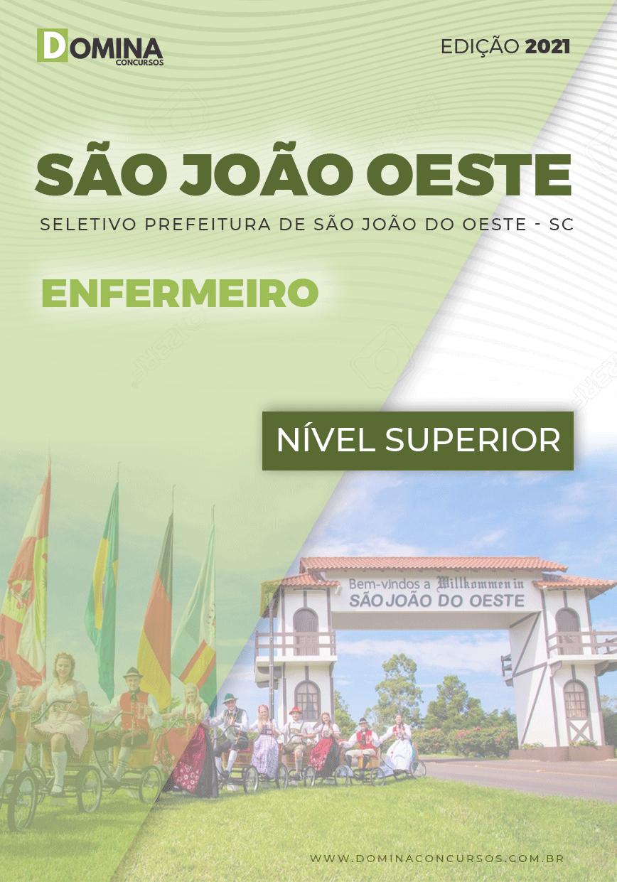 Apostila Seletivo Pref São José Oeste SC 2021 Enfermeiro