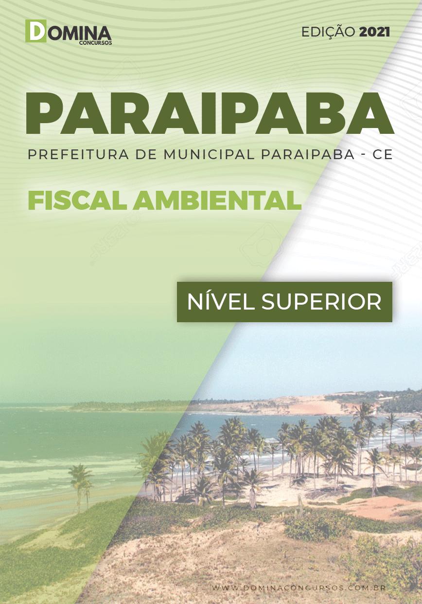 Apostila Concurso Pref Paraipaba CE 2021 Fiscal Ambiental