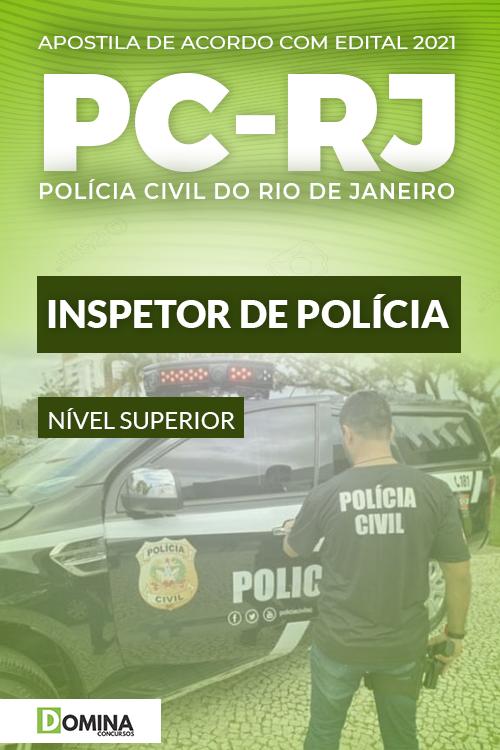 Apostila Concurso Público PC RJ 2021 Inspetor de Polícia