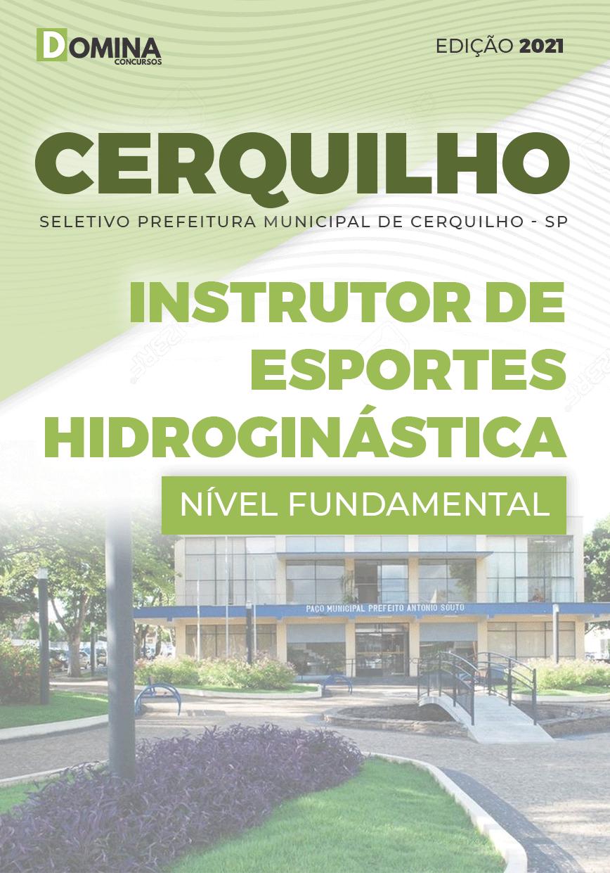 Apostila Pref Cerquilho SP 2021 Instrutor Esportes Hidroginástica
