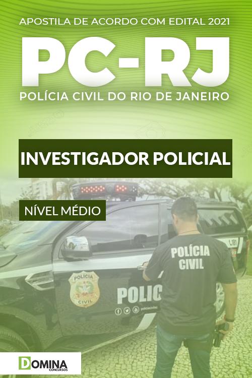 Apostila Concurso Público PC RJ 2021 Investigador Policial