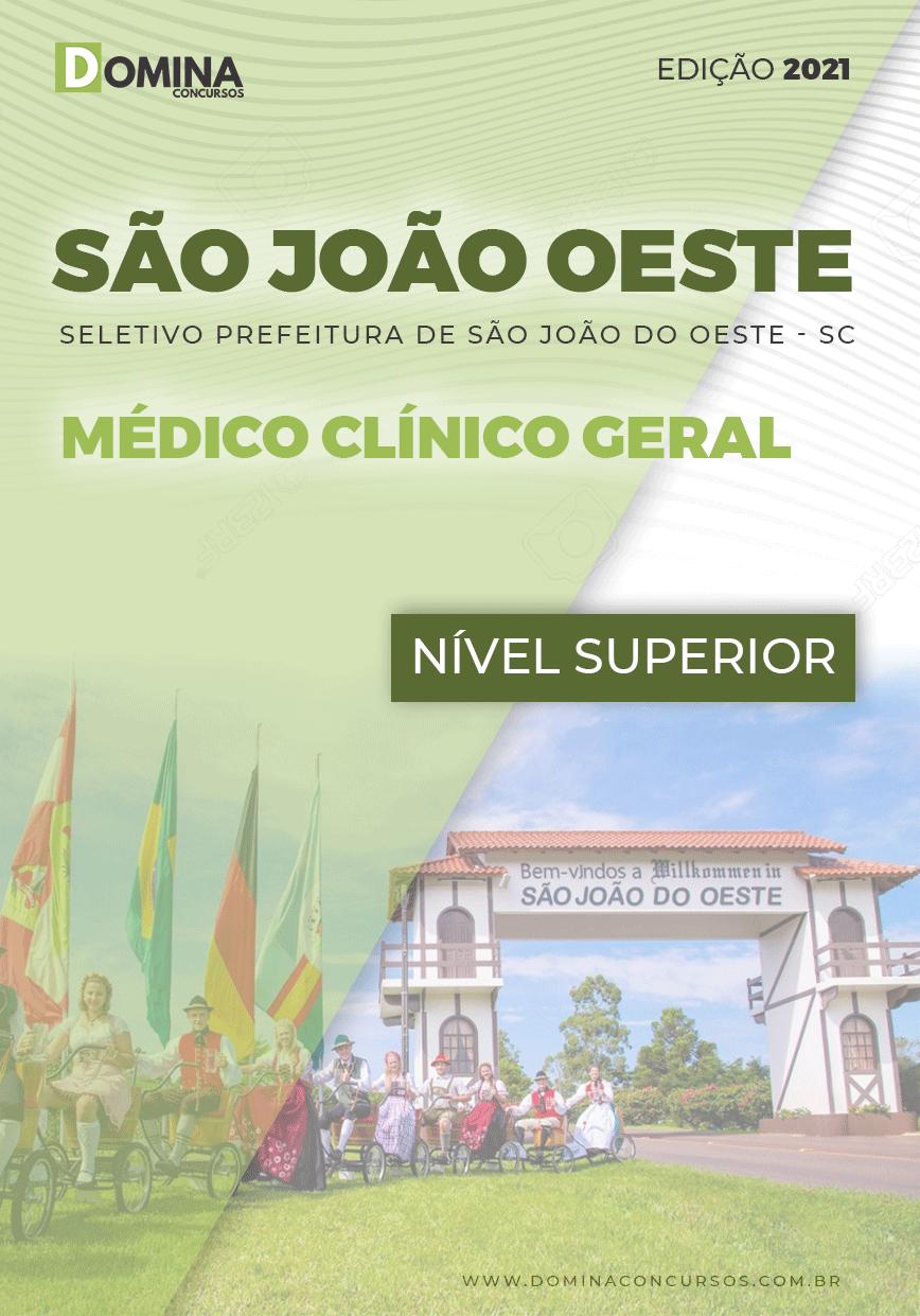 Apostila Pref São José Oeste SC 2021 Médico Clínico Geral