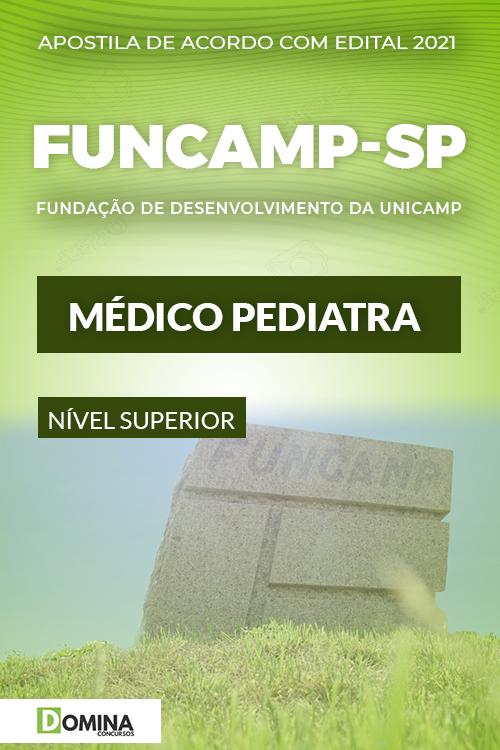 Apostila Seletivo FUNCAMP SP 2021 Médico Pediatra
