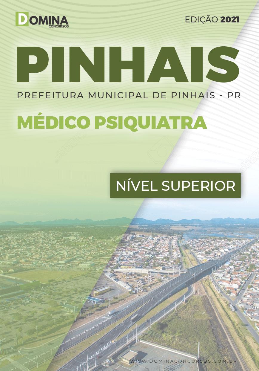 Apostila Concurso Pref Pinhais PR 2021 Médico Psiquiatra
