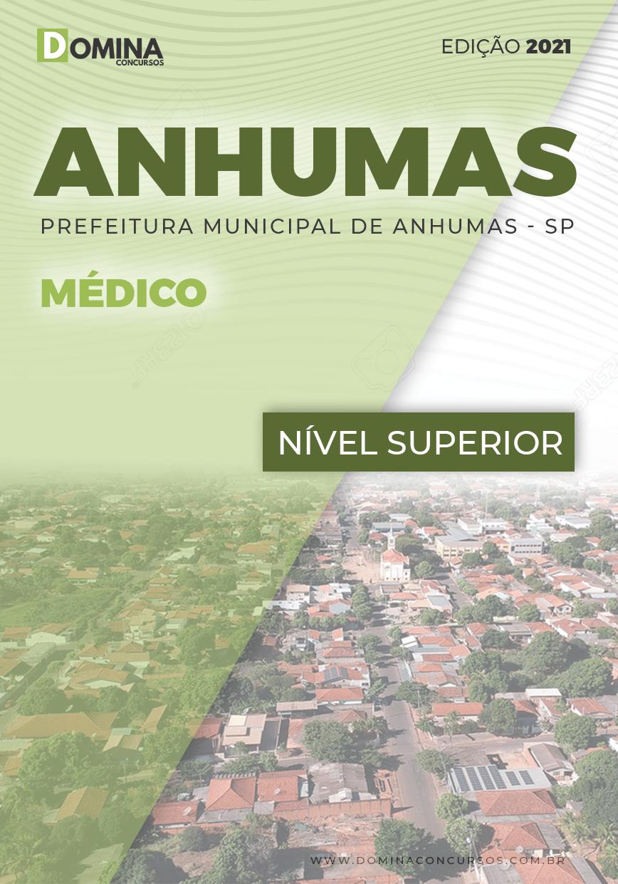 Apostila Seletivo Pref Anhumas SP 2021 Médico