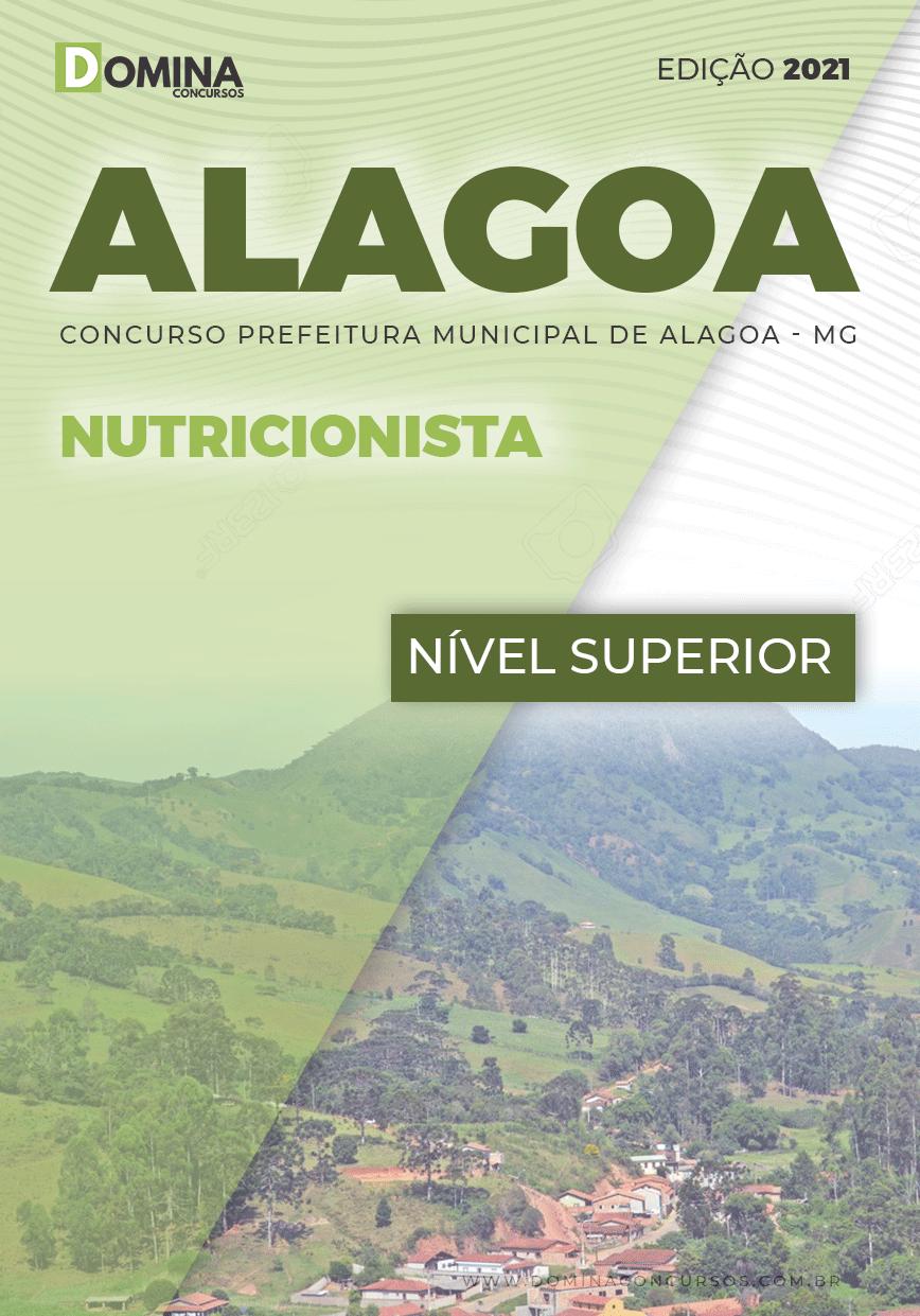 Apostila Concurso Público Pref Alagoa MG 2021 Nutricionista