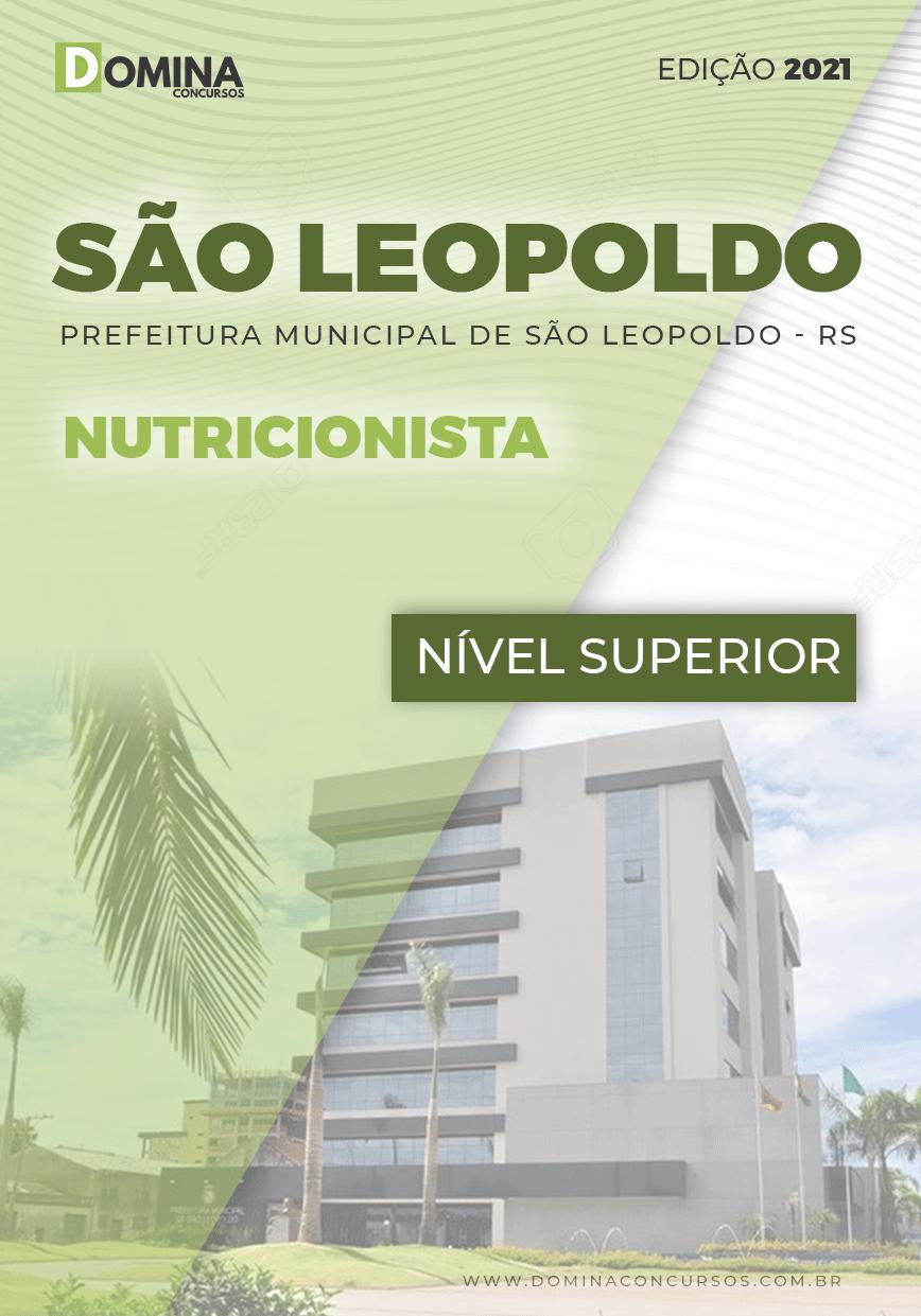 Apostila Concurso Pref São Leopoldo RS 2021 Nutricionista