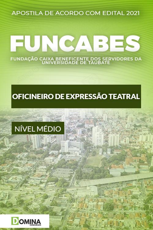 Apostila FUNCABES SP 2021 Oficineiro de Expressão Teatral
