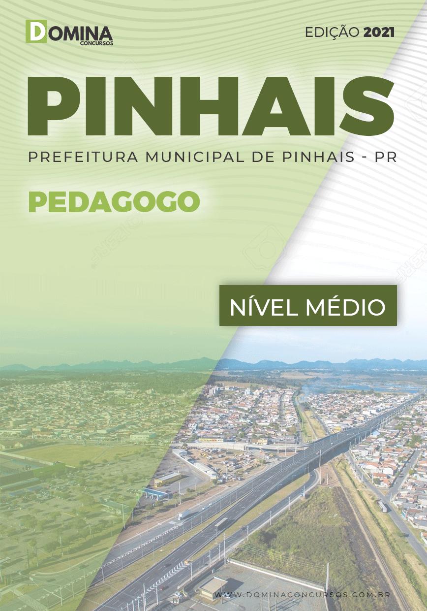 Apostila Concurso Pref Pinhais PR 2021 Pedagogo