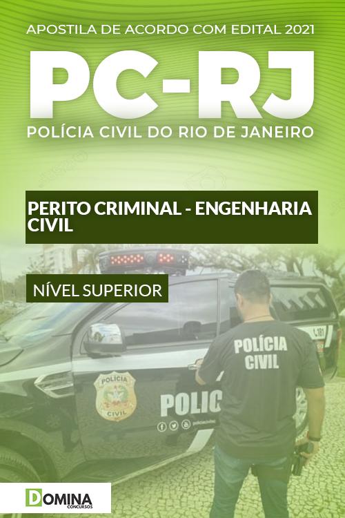 Apostila Concurso PC RJ 2021 Perito Criminal Engenharia Civil
