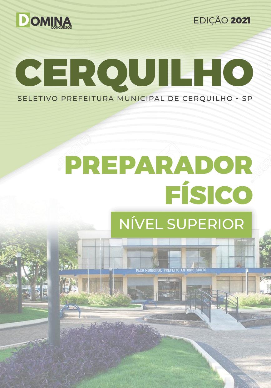 Apostila Seletivo Pref Cerquilho SP 2021 Preparador Físico