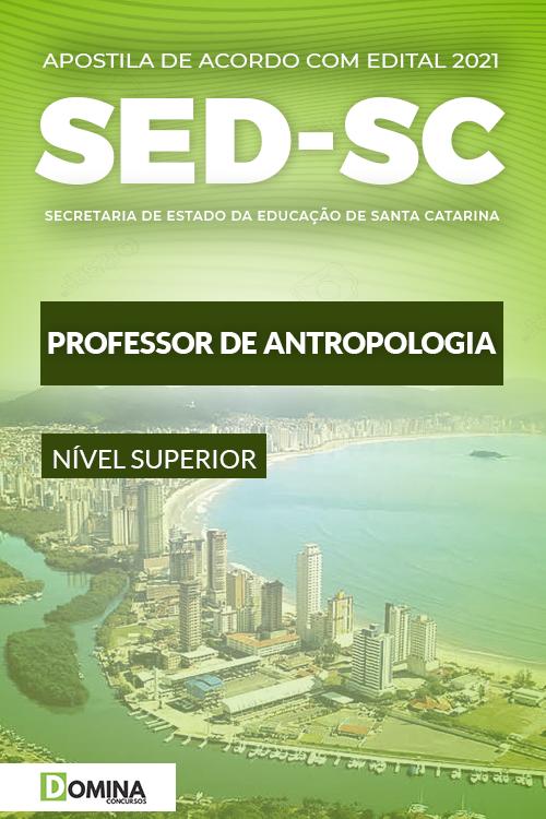 Apostila SED SC 2021 Professor Indígena Antropologia