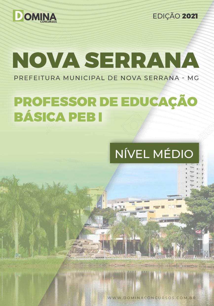 Apostila Pref Nova Serrana MG 2021 Professor Educação Básica