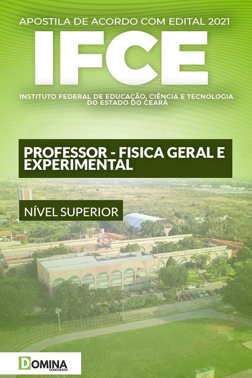 Apostila IFCE 2021 Professor Física Geral e Experimental