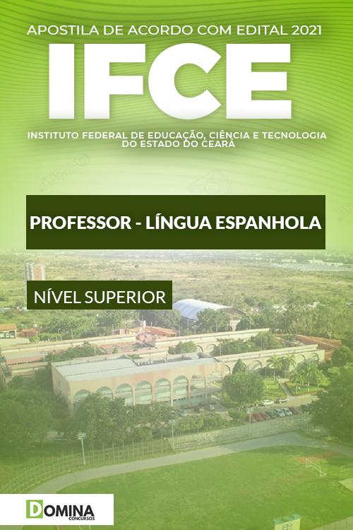 Apostila Concurso IFCE 2021 Professor Língua Espanhola