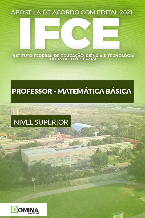 Apostila Concurso IFCE 2021 Professor Matemática Básica