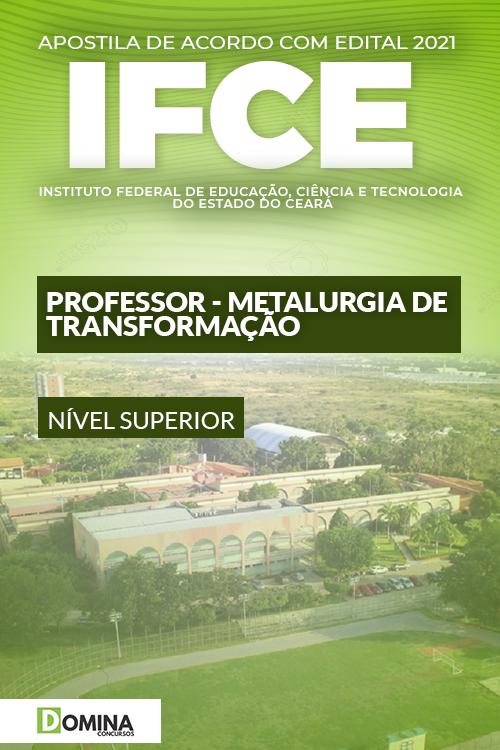 Apostila IFCE 2021 Professor Metalurgia de Transformação