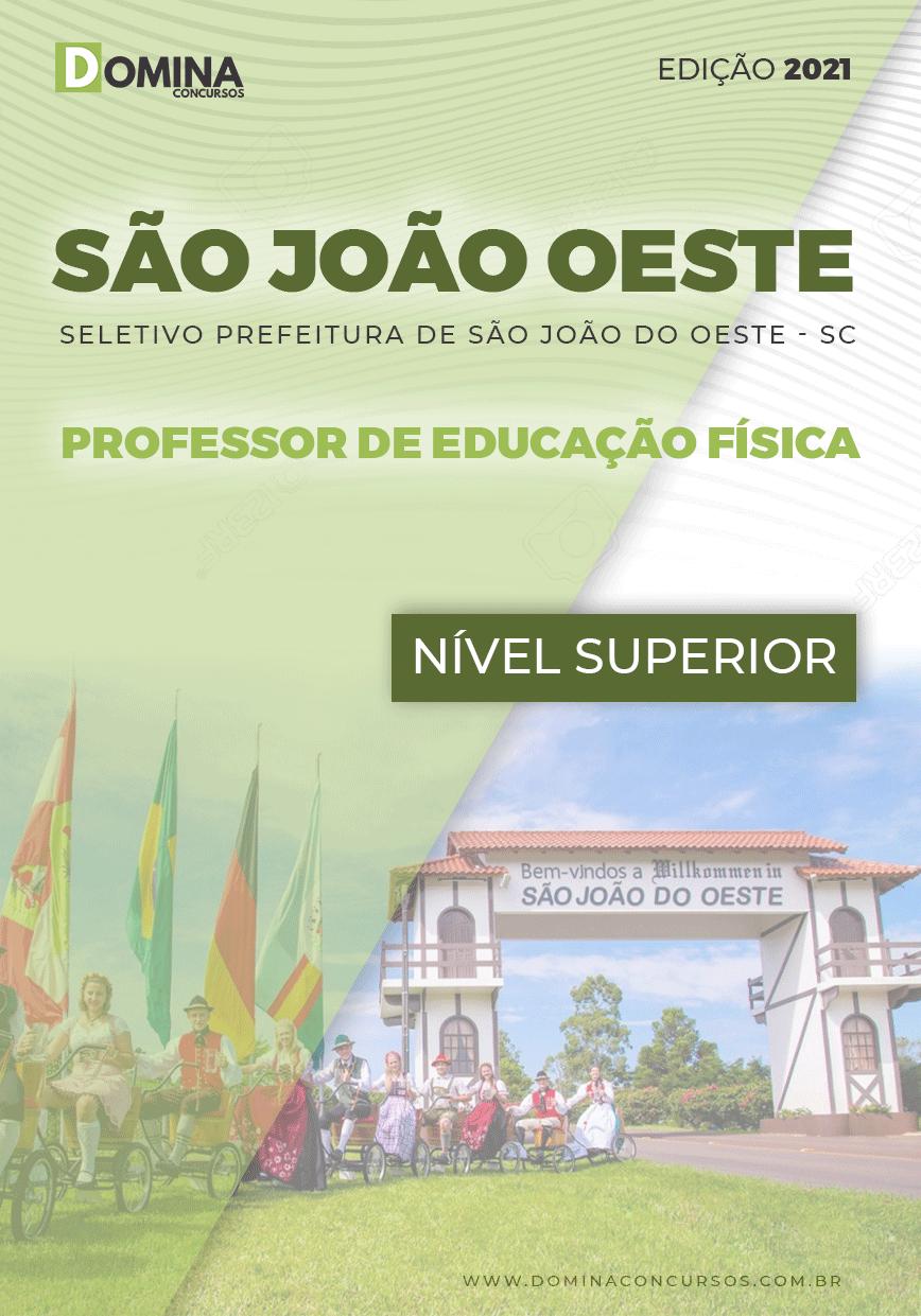 Apostila Pref São José Oeste SC 2021 Prof de Educação Física