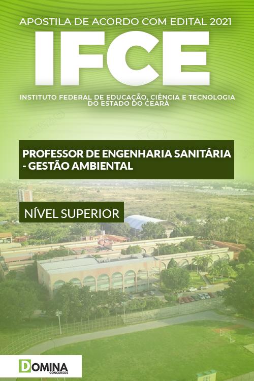 Apostila IFCE 2021 Professor de Engenharia Gestão Ambiental