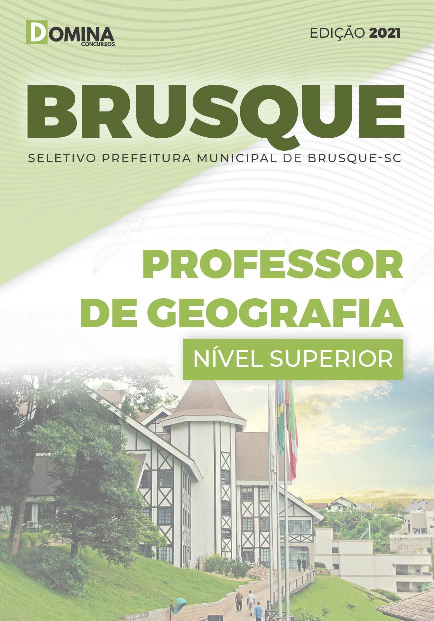 Apostila Pref Brusque SC 2021 Professor de Geografia