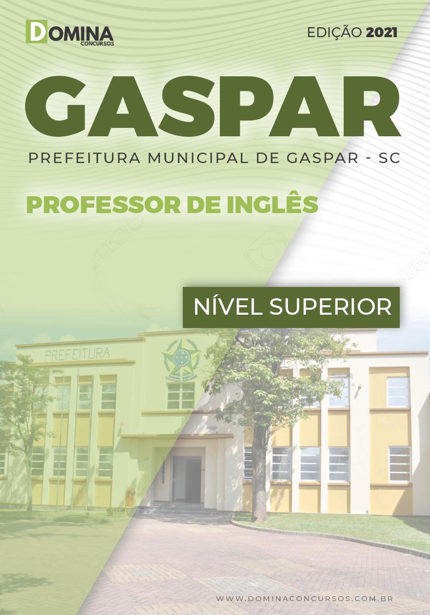 Apostila Seletivo Pref Gaspar SC 2021 Professor de Inglês