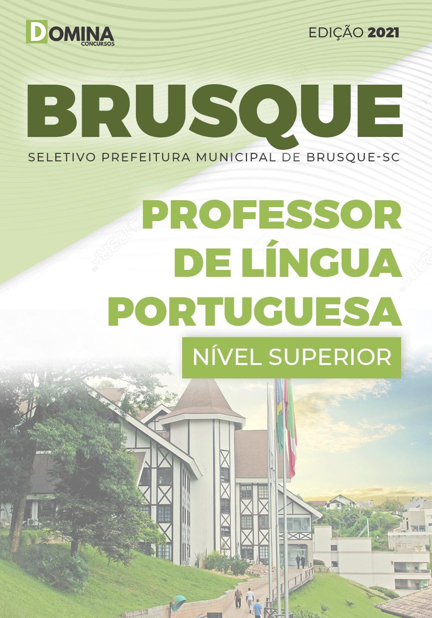 Apostila Pref Brusque SC 2021 Professor Língua Portuguesa