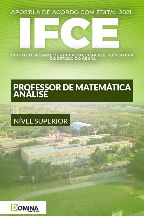 Apostila Concurso IFCE 2021 Professor Matemática Análise