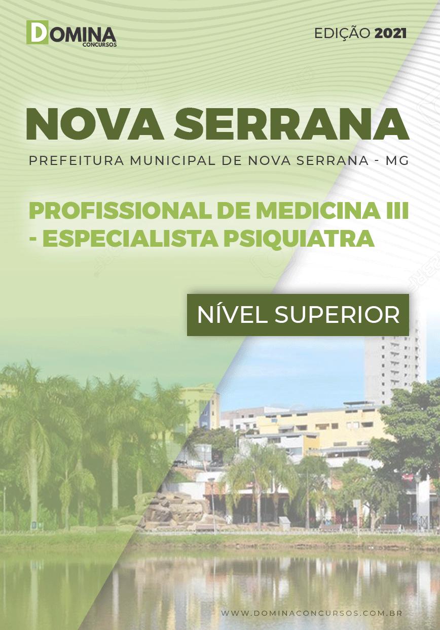 Apostila Pref Nova Serrana MG 2021 Medicina Psiquiatra