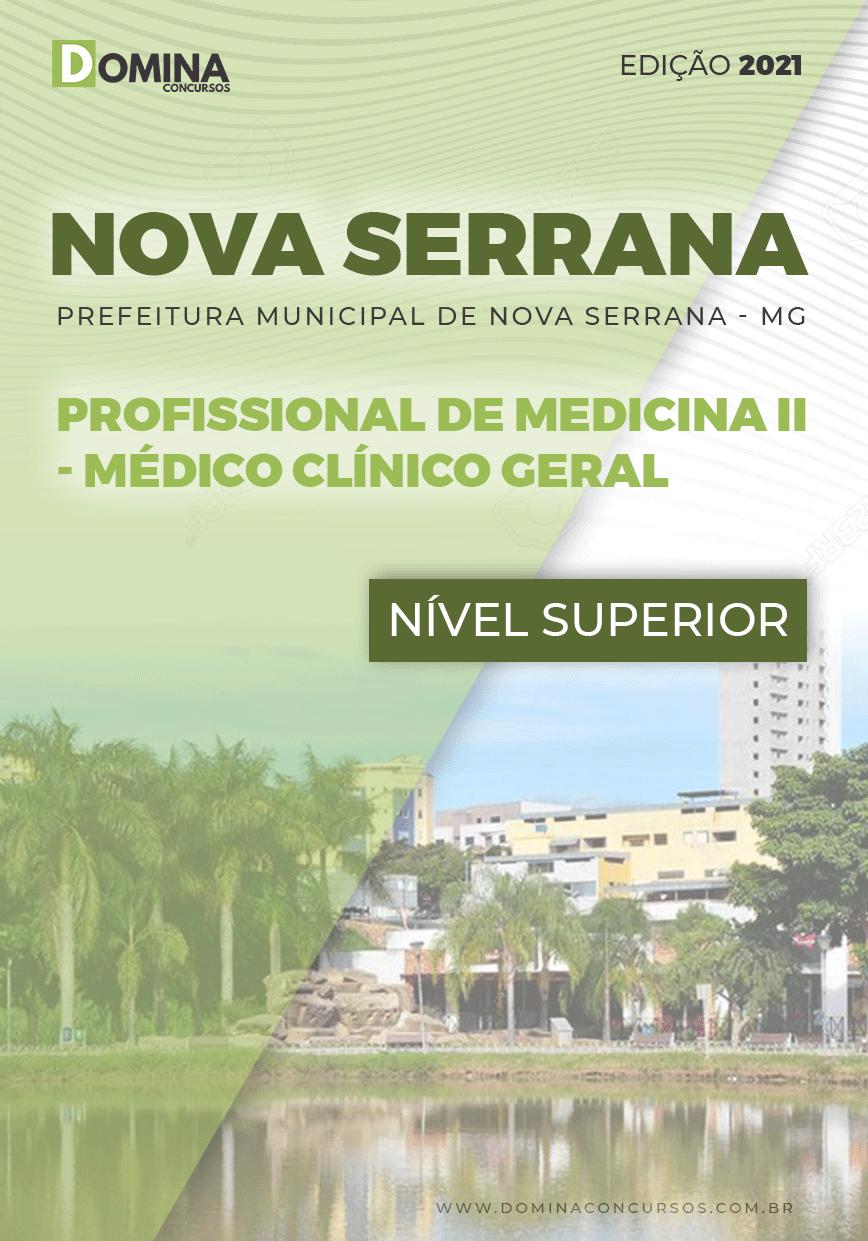 Apostila Pref Nova Serrana MG 2021 Médico Clínico Geral