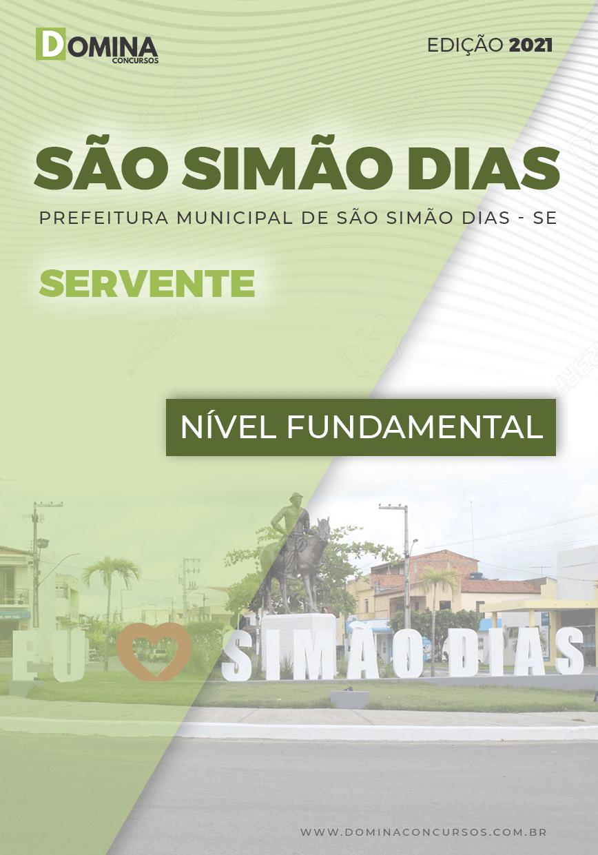 Apostila Pref São Simão Dias SE 2021 Servente
