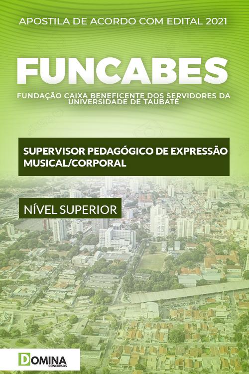 Apostila FUNCABES SP 2021 Supervisor Musical Corporal