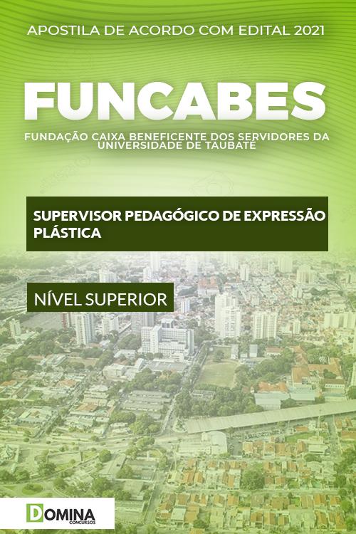 Apostila FUNCABES SP 2021 Supervisor Expressão Plástica