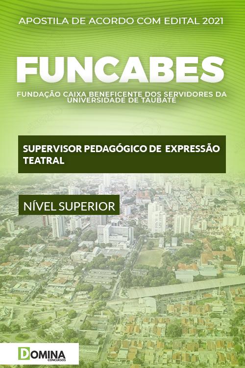Apostila FUNCABES SP 2021 Supervisor Expressão Teatral
