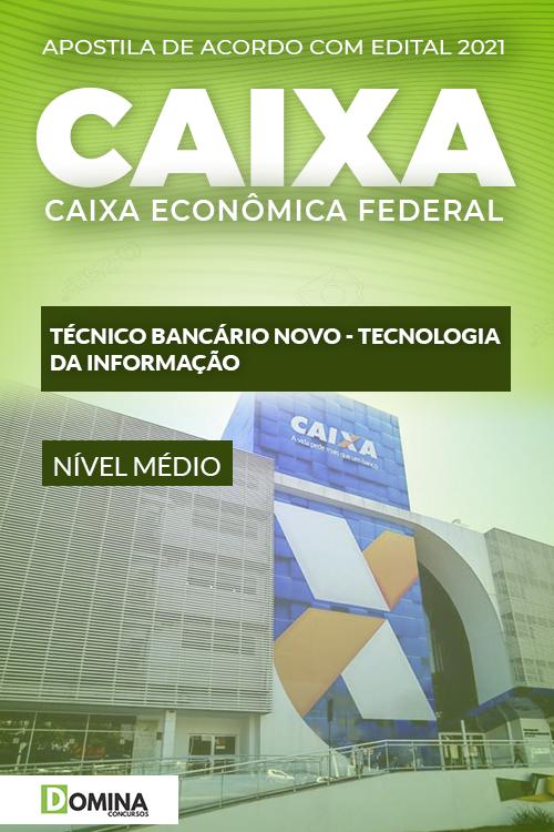 Apostila Caixa 2021 Técnico Bancário Tecnologia da Informação