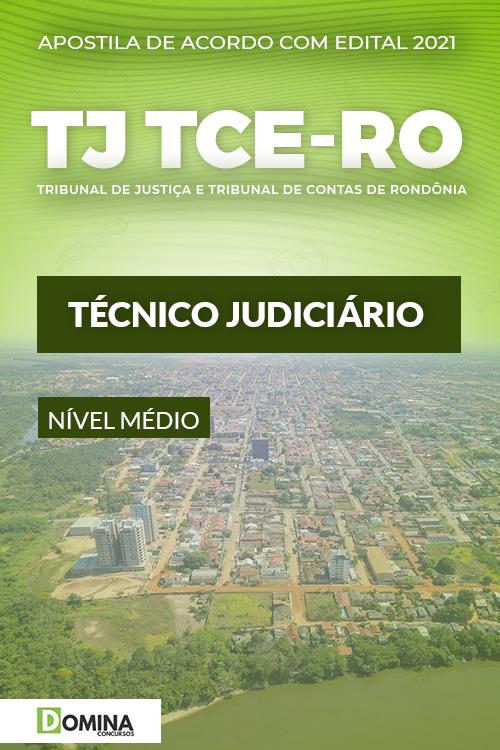 Apostila Concurso TJ TCE RO 2021 Técnico Judiciário