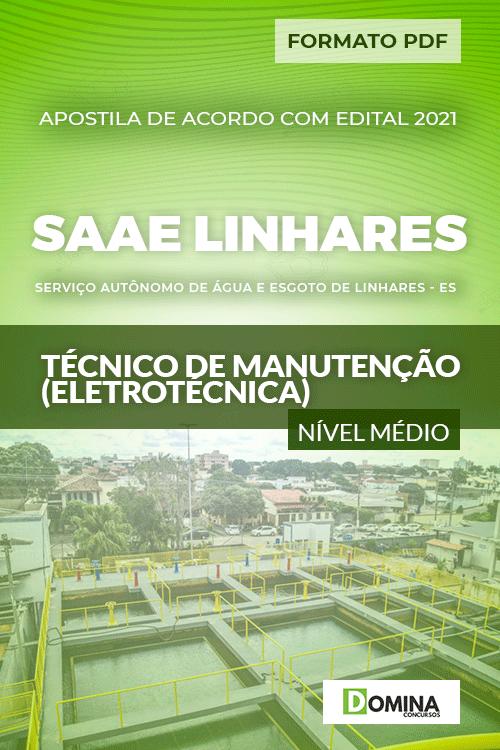 Apostila SAAE Linhares ES 2021 Técnico de Eletrotécnica