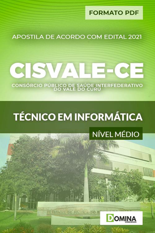 Apostila Seletivo CISVALE CE 2021 Técnico em Informática