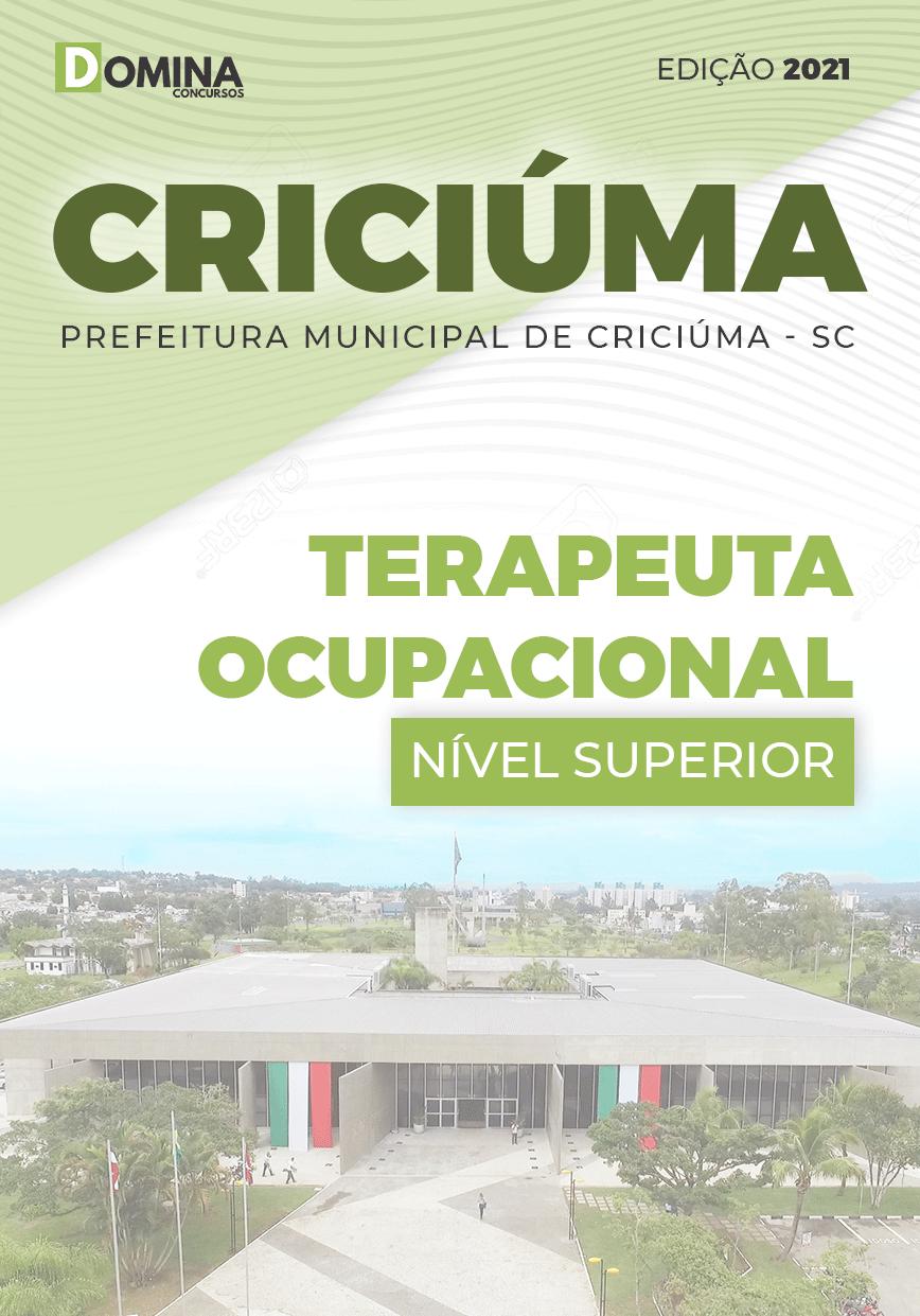 Apostila Pref Criciúma SC 2021 Terapeuta Ocupacional
