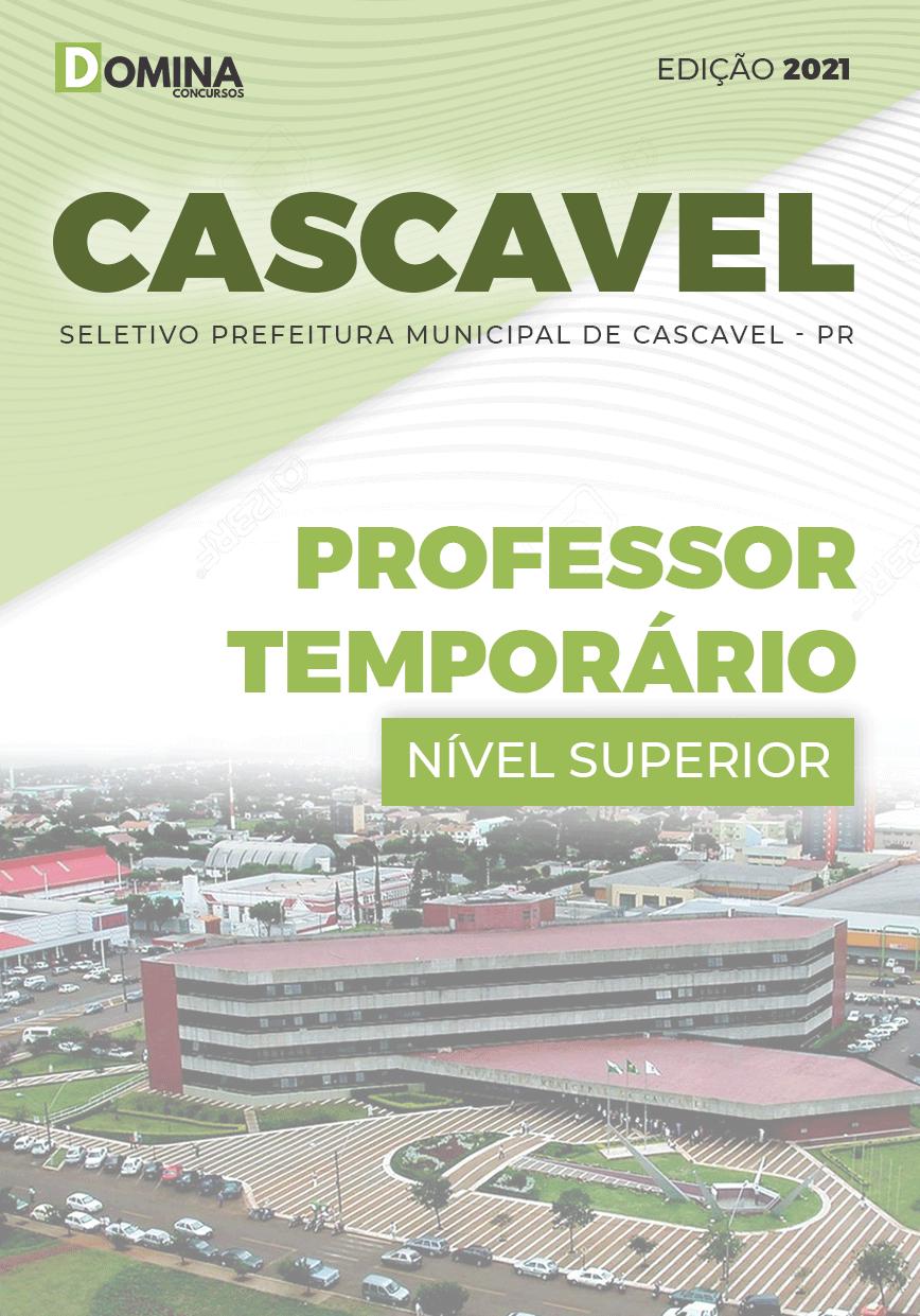 Apostila Pref Cascavel PR 2021 Professor Temporário