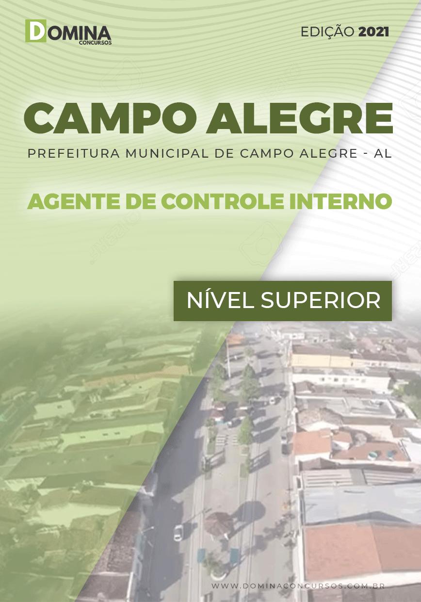 Apostila Pref Campo Alegre AL 2021 Agente de Controle Interno