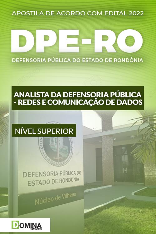 Apostila DPE RO 2022 Analista DP Redes e Comunicação de Dados