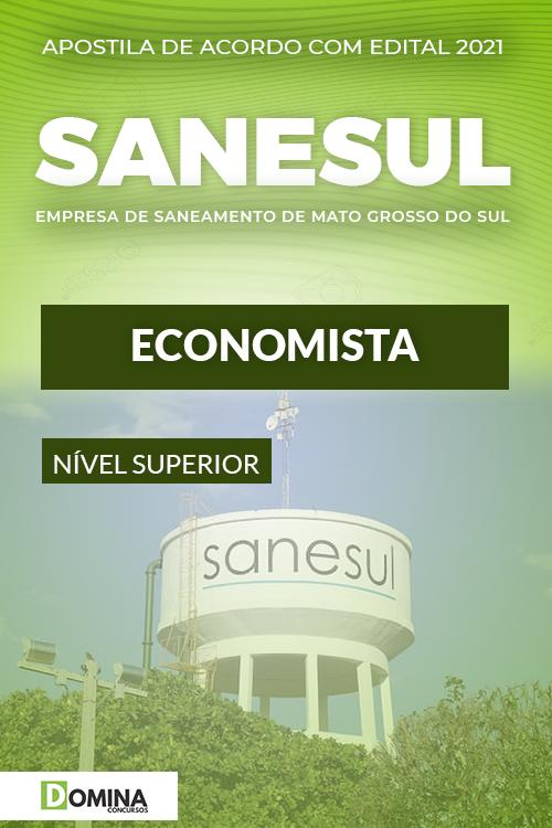 Apostila Digital Concurso SANESUL MS 2021 Economista