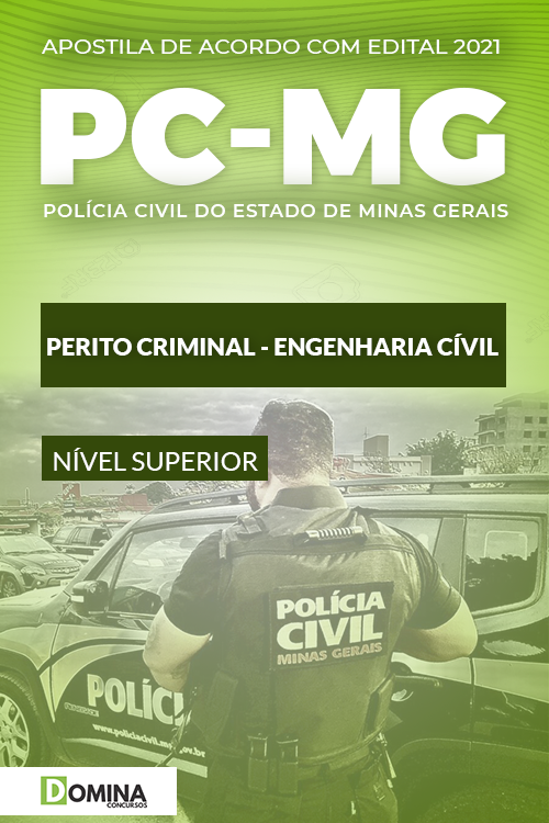 Apostila PC MG 2021 Perito Criminal Engenharia Civil