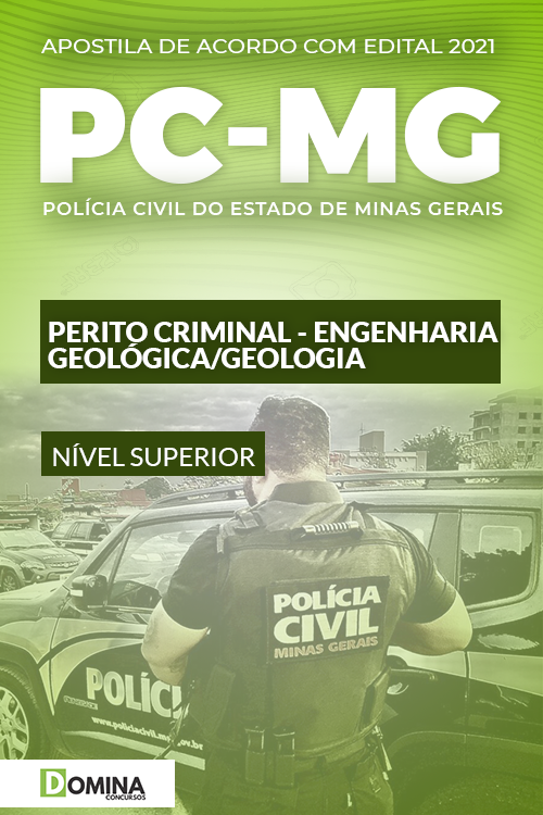 Apostila PC MG 2021 Perito Criminal Engenharia Geológica